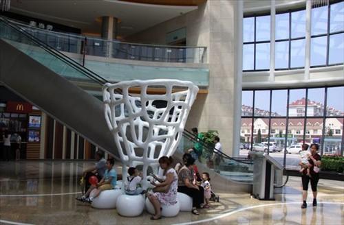 鑫江东方城购物中心,总建筑面积17万平方米