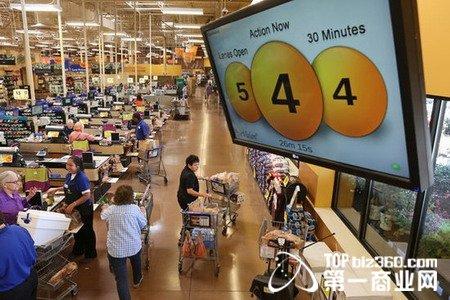 美国零售商:用军用技术解决收银排队问题?