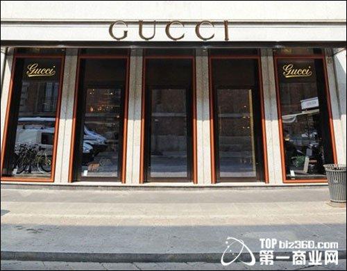 Gucci欧洲首家男装旗舰店入驻米兰