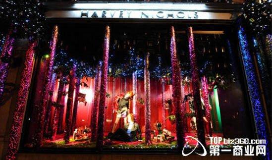 圣诞吸金利器:全球5大著名百货公司橱窗设计(2)