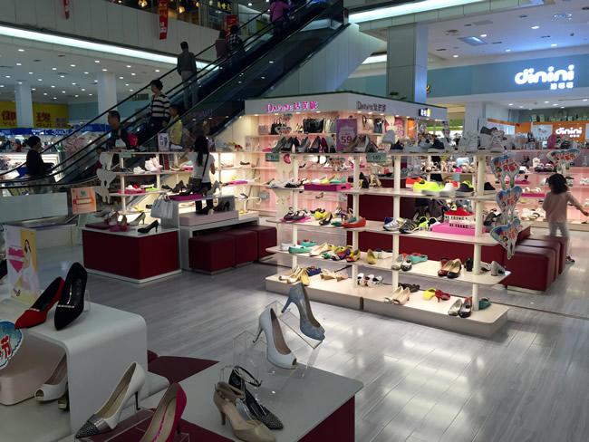 品牌鞋类专柜